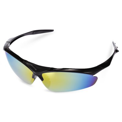 Robesbon 5 Replaceable Lenses Polarized Cycling Glasses