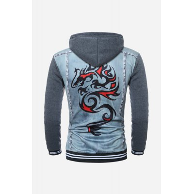 Men Fashion Hooded SweaterMens Hoodies &amp; Sweatshirts<br>Men Fashion Hooded Sweater<br><br>Material: Cotton, Polyester<br>Package Contents: 1 x Outwear<br>Package size: 30.00 x 20.00 x 5.00 cm / 11.81 x 7.87 x 1.97 inches<br>Package weight: 0.3800 kg<br>Product weight: 0.3500 kg