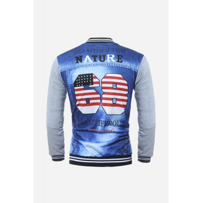Men Fashion 3D JacketMens Hoodies &amp; Sweatshirts<br>Men Fashion 3D Jacket<br><br>Material: Cotton, Polyester<br>Package Contents: 1 x Jacket<br>Package size: 20.00 x 30.00 x 5.00 cm / 7.87 x 11.81 x 1.97 inches<br>Package weight: 0.3700 kg<br>Product weight: 0.3400 kg