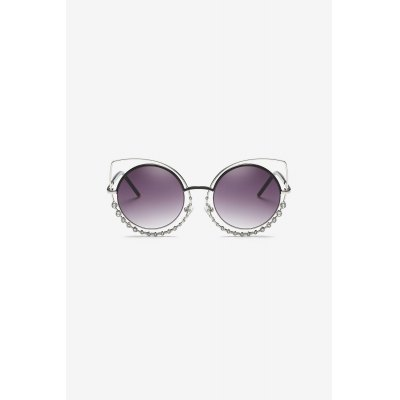 Metal Frame SunglassesStylish Sunglasses<br>Metal Frame Sunglasses<br><br>Frame material: Metal<br>Functions: Dustproof, UV Protection, Windproof<br>Lens material: PC<br>Package Contents: 1 x Pair of Sunglasses, 1 x Drawstring Bag, 1 x Cloth, 1 x Box<br>Package size (L x W x H): 15.50 x 6.50 x 4.50 cm / 6.1 x 2.56 x 1.77 inches<br>Package weight: 0.3900 kg<br>Product weight: 0.3500 kg