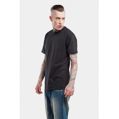 Seamless Round Neck 100 Cotton T-shirt for MenMens Short Sleeve Tees<br>Seamless Round Neck 100 Cotton T-shirt for Men<br><br>Material: Cotton<br>Neckline: Round Neck<br>Package Content: 1 x T-shirt<br>Package size: 30.00 x 35.00 x 0.50 cm / 11.81 x 13.78 x 0.2 inches<br>Package weight: 0.2500 kg<br>Pattern Type: Solid<br>Product weight: 0.2000 kg<br>Season: Summer<br>Sleeve Length: Short Sleeves<br>Style: Casual