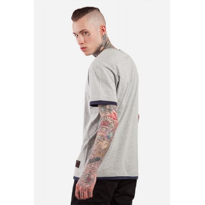 False Two-piece Round Neck 100 Cotton T-shirt for MenMens Short Sleeve Tees<br>False Two-piece Round Neck 100 Cotton T-shirt for Men<br><br>Material: Cotton<br>Neckline: Round Collar<br>Package Content: 1 x T-shirt<br>Package size: 30.00 x 35.00 x 0.50 cm / 11.81 x 13.78 x 0.2 inches<br>Package weight: 0.2500 kg<br>Pattern Type: Solid<br>Product weight: 0.2000 kg<br>Season: Summer<br>Sleeve Length: Short Sleeves<br>Style: Casual