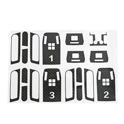 Fashionable Carbon Fiber Pattern PVC Sticker SetRC Quadcopter Parts<br>Fashionable Carbon Fiber Pattern PVC Sticker Set<br><br>Compatible with: DJI Spark mini RC drone<br>Package Contents: 1 x Sticker Set, 1 x Cleaning Paper Set<br>Package size (L x W x H): 25.80 x 22.50 x 0.40 cm / 10.16 x 8.86 x 0.16 inches<br>Package weight: 0.0850 kg<br>Product size (L x W x H): 24.80 x 21.50 x 0.30 cm / 9.76 x 8.46 x 0.12 inches<br>Product weight: 0.0190 kg<br>Type: Protective Film