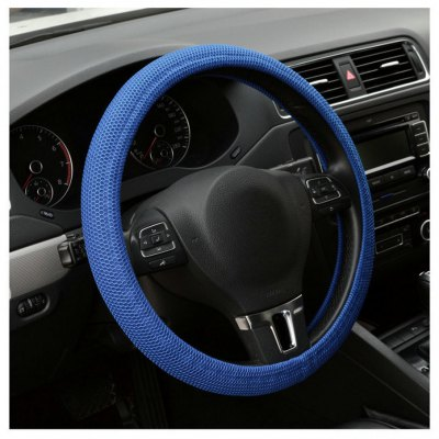 Car Elastic Handmade Steering Wheel CoverSteering Wheel Covers<br>Car Elastic Handmade Steering Wheel Cover<br><br>Package Contents: 1 x Car Handmade Steering Wheel Cover<br>Package size (L x W x H): 10.00 x 11.00 x 12.00 cm / 3.94 x 4.33 x 4.72 inches<br>Package weight: 0.0700 kg<br>Product size (L x W x H): 38.00 x 38.00 x 10.50 cm / 14.96 x 14.96 x 4.13 inches<br>Product weight: 0.0460 kg<br>Type: Steering Wheel Cover
