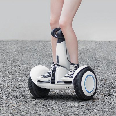 Xiaomi Ninebot Plus Electric 11 inch Self Balancing ScooterScooters and Wheels<br>Xiaomi Ninebot Plus Electric 11 inch Self Balancing Scooter<br><br>Battery: 18650 Li-ion battery<br>Bluetooth: Yes<br>Brand: Xiaomi<br>Charger type: Chinese Plug<br>Color: White<br>Folding Type: Non-folding<br>Max Payload: 100kg<br>Maximum Grade Ability: 15 degrees<br>Maximum Mileage: 35km<br>Maximum Speed (km/h): 18km/h<br>Mileage (depends on road and driver weight): Above 20km<br>Model Number: Ninebot Plus<br>Motor Rated Power: 400W x 2<br>Package Contents: 1 x Xiaomi Ninebot Plus Self-balancing Scooter, 1 x AC Cable, 1 x Adapter, 1 x Remote Control, 1x Control Lanyard, 1 x Control Charging Cable, 1 x Foot Controller, 1 x Foot Controller Cover, 1 x Wrenc<br>Package size (L x W x H): 59.00 x 30.00 x 64.00 cm / 23.23 x 11.81 x 25.2 inches<br>Package weight: 17.0800 kg<br>Product size (L x W x H): 57.70 x 28.00 x 62.00 cm / 22.72 x 11.02 x 24.41 inches<br>Product weight: 16.0000 kg<br>Remote Controller: Yes<br>Seat Type: without Seat<br>Transmission Distance: 20m without obstacles<br>Type: Self Balancing Scooter<br>Version: V4.0<br>Wheel Number: 2 Wheel