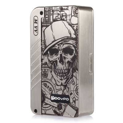 Dovpo MVV Mod with Max 280WVV/VW Mods<br>Dovpo MVV Mod with Max 280W<br><br>Accessories type: MOD<br>Adjustable voltage range: 1.0 - 8.0V<br>APV Mod Wattage: 280W<br>APV Mod Wattage Range: Over 200W<br>Battery Cover Type: Magnetic<br>Battery Form Factor: 18650<br>Battery Quantity: 2pcs ( not included )<br>Material: Zinc Alloy<br>Mod: VV/VW Mod<br>Package Contents: 1 x Dovpo MVV Mod, 1 x English User Manual<br>Package size (L x W x H): 11.60 x 7.60 x 3.20 cm / 4.57 x 2.99 x 1.26 inches<br>Package weight: 0.2670 kg<br>Product size (L x W x H): 9.20 x 5.00 x 2.30 cm / 3.62 x 1.97 x 0.91 inches<br>Product weight: 0.1890 kg