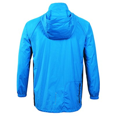 ARSUXEO Male Windproof Hooded Skin WindbreakerCycling Clothings<br>ARSUXEO Male Windproof Hooded Skin Windbreaker<br><br>Brand: Arsuxeo<br>Feature: Windproof, Quick Dry, Breathable, Anti-UV<br>Package Contents: 1 x ARSUXEO Skin Windbreaker<br>Package size (L x W x H): 30.00 x 28.00 x 3.00 cm / 11.81 x 11.02 x 1.18 inches<br>Package weight: 0.1400 kg<br>Product weight: 0.1000 kg<br>Suitable Crowds: Men
