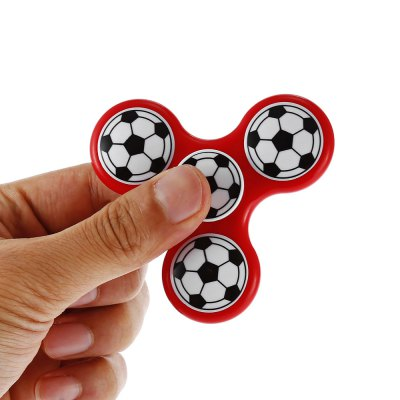 Three-blade Football Pattern ABS Fidget SpinnerFidget Spinners<br>Three-blade Football Pattern ABS Fidget Spinner<br><br>Center Bearing Material: Stainless Steel, Stainless Steel<br>Color: Red, Red<br>Frame material: ABS, ABS<br>Package Contents: 1 x Fidget Spinner, 1 x Fidget Spinner<br>Package size (L x W x H): 9.00 x 9.00 x 2.00 cm / 3.54 x 3.54 x 0.79 inches, 9.00 x 9.00 x 2.00 cm / 3.54 x 3.54 x 0.79 inches<br>Package weight: 0.0750 kg, 0.0750 kg<br>Product size (L x W x H): 7.60 x 7.60 x 1.50 cm / 2.99 x 2.99 x 0.59 inches, 7.60 x 7.60 x 1.50 cm / 2.99 x 2.99 x 0.59 inches<br>Product weight: 0.0450 kg, 0.0450 kg<br>Type: Triple Blade, Triple Blade