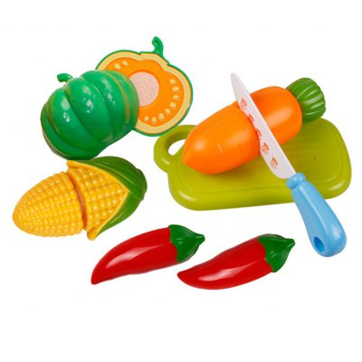 6 Pieces of Vegetable Toy