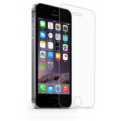 Naxtop 2.5D Tempered Glass Screen Protective Film for iPhone 5 / 5S / SE / 5C