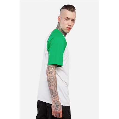 Raglan Sleeve Color Spliced 100 Cotton T-shirt for MenMens Short Sleeve Tees<br>Raglan Sleeve Color Spliced 100 Cotton T-shirt for Men<br><br>Material: Cotton<br>Neckline: Round Collar<br>Package Content: 1 x T-shirt , 1 x T-shirt<br>Package size: 30.00 x 35.00 x 0.50 cm / 11.81 x 13.78 x 0.2 inches, 30.00 x 35.00 x 0.50 cm / 11.81 x 13.78 x 0.2 inches<br>Package weight: 0.2500 kg, 0.2500 kg<br>Pattern Type: Solid, Solid<br>Product weight: 0.2000 kg, 0.2000 kg<br>Season: Summer, Summer<br>Sleeve Length: Short Sleeves<br>Style: Casual