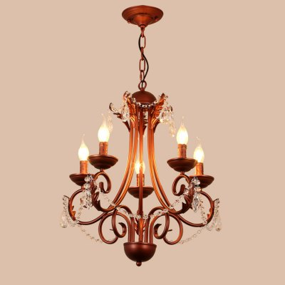 LightMyself YQ1018 - 5 Crystal ChandelierChandelier<br>LightMyself YQ1018 - 5 Crystal Chandelier<br><br>Beam Angle: 360 Degree<br>Brand: LightMyself<br>Bulb Base Type: E14<br>Bulb Included: No<br>Function: Commercial Lighting, Studio and Exhibition Lighting, Home Lighting<br>Illumination Field: 10 - 20 Square Meter<br>Output Power: 40W<br>Package Contents: 1 x LightMyself YQ1018 - 5 Crystal Pendant Light, 1 x Installation Component Kit, 1 x Spare Part Kit, 1 x English Instruction Manual<br>Package size (L x W x H): 61.00 x 28.00 x 21.00 cm / 24.02 x 11.02 x 8.27 inches<br>Package weight: 3.8000 kg<br>Product size (L x W x H): 55.00 x 55.00 x 55.00 cm / 21.65 x 21.65 x 21.65 inches<br>Product weight: 3.0000 kg<br>Quantity of Spots: 5<br>Sheathing Material: Iron, Crystal<br>Style: Classic, Europe<br>Type: Chandeliers<br>Voltage (V): AC 220-240
