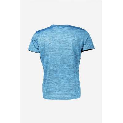 Men Summer Sports T-shirt with Round CollarMens Short Sleeve Tees<br>Men Summer Sports T-shirt with Round Collar<br><br>Material: Polyester<br>Neckline: Round Collar<br>Package Content: 1 x T-shirt<br>Package size: 28.00 x 33.00 x 2.00 cm / 11.02 x 12.99 x 0.79 inches<br>Package weight: 0.2000 kg<br>Product weight: 0.1360 kg<br>Season: Summer<br>Sleeve Length: Short Sleeves<br>Style: Sport