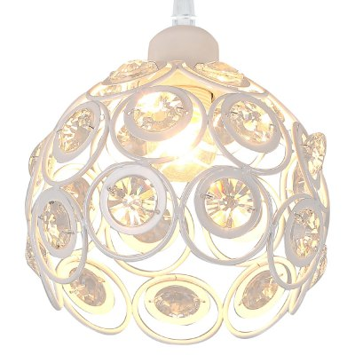 LightMyself Crystal Trimmed Pendant LightPendant Light<br>LightMyself Crystal Trimmed Pendant Light<br><br>Beam Angle: 360 Degree<br>Brand: LightMyself<br>Bulb Base Type: E14<br>Bulb Included: No<br>Output Power: 40W<br>Package Contents: 1 x LightMyself Crystal Pendant Light<br>Package size (L x W x H): 25.00 x 25.00 x 25.00 cm / 9.84 x 9.84 x 9.84 inches<br>Package weight: 1.8500 kg<br>Product weight: 1.0000 kg<br>Sheathing Material: Crystal<br>Style: Trendy, Modern/Contemporary<br>Type: Pendants<br>Voltage (V): AC 110-120V