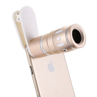 4-in-1 10X Zoom Telescope KitiPhone Lenses<br>4-in-1 10X Zoom Telescope Kit<br><br>Features: Lens with Case<br>Lens type: Fish-Eye Lens,Long Focal(Telephoto Lens),Macro Lens,Wide-Angle-Lens<br>Magnification ?Fish eye Lens ): 180 degree<br>Magnification ?Macro Lens ): 15X<br>Magnification ?Telephoto Lens ): 10X<br>Magnification ?Wide Angle Lens ): 0.36X<br>Material: Optical glass, Metal<br>Package Contents: 1 x Telescope Lens, 1 x Fisheye Lens, 1 x Wide Angle Macro Lens, 1 x Clip, 6 x Cover Case, 1 x Cloth<br>Package size (L x W x H): 13.90 x 8.70 x 4.50 cm / 5.47 x 3.43 x 1.77 inches<br>Package weight: 0.1920 kg<br>Product size (L x W x H): 7.00 x 3.00 x 3.00 cm / 2.76 x 1.18 x 1.18 inches<br>Product weight: 0.1020 kg