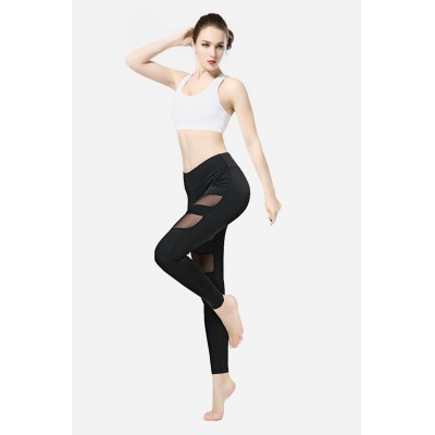 Sport LeggingsYoga<br>Sport Leggings<br><br>Closure Type: Elastic Waist<br>Features: Breathable, High elasticity<br>Gender: Female<br>Material: Polyester, Spandex<br>Package Content: 1 x Pants<br>Package size: 30.00 x 35.00 x 0.50 cm / 11.81 x 13.78 x 0.2 inches<br>Package weight: 0.3200 kg<br>Product weight: 0.2500 kg<br>Type: Pants