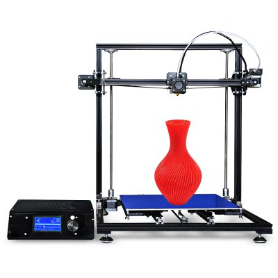 Tronxy X3S Aluminum Frame LCD Screen  3D Printer DIY Kit3D Printers, 3D Printer Kits<br>Tronxy X3S Aluminum Frame LCD Screen  3D Printer DIY Kit<br><br>Brand: Tronxy<br>File format: STL, G-code<br>Frame material: Aluminium Extrusion<br>Host computer software: Cura,Repetier-Host<br>Language: Chinese,English<br>Layer thickness: 0.1-0.4mm<br>LCD Screen: Yes<br>Material diameter: 1.75mm<br>Model: X3S<br>Nozzle diameter: 0.4mm<br>Nozzle temperature: 170-275 Degree<br>Package size: 58.00 x 38.00 x 19.00 cm / 22.83 x 14.96 x 7.48 inches<br>Package weight: 11.5000 kg<br>Packing Contents: 1 x Tronxy X3S 3D Printer DIY Kit<br>Packing Type: unassembled packing<br>Print speed: 20 - 150mm/s<br>Product forming size: 300 x 300 x 400mm<br>Product size: 52.00 x 49.00 x 49.80 cm / 20.47 x 19.29 x 19.61 inches<br>Product weight: 10.0000 kg<br>Supporting material: ABS, HIPS, PC, Wood, PVC, PLA, PVA<br>System support: Mac, XP,  Win7<br>Type: DIY<br>Voltage: 110V/220V<br>XY-axis positioning accuracy: 0.012mm<br>Z-axis positioning accuracy: 0.004mm