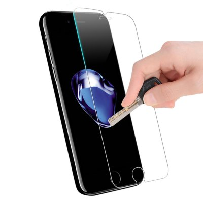 Naxtop Screen Film for iPhone 7IPhone Screen Protectors<br>Naxtop Screen Film for iPhone 7<br><br>Brand: Naxtop<br>Features: Protect Screen, High-definition, High sensitivity, Anti-oil, Anti scratch, Anti fingerprint<br>For: Cell Phone<br>Mainly Compatible with: iPhone 7<br>Material: Tempered Glass<br>Package Contents: 1 x Screen Film, 1 x Wet Wipes, 1 x Dry Wipes, 1 x Dust-absorber<br>Package size (L x W x H): 8.00 x 2.00 x 16.00 cm / 3.15 x 0.79 x 6.3 inches<br>Package weight: 0.1060 kg<br>Product weight: 0.0080 kg<br>Surface Hardness: 9H<br>Thickness: 0.26mm<br>Type: Screen Protector