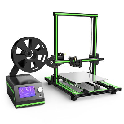 Anet E10 Aluminum Frame Multi-language 3D Printer DIY Kit3D Printers, 3D Printer Kits<br>Anet E10 Aluminum Frame Multi-language 3D Printer DIY Kit<br><br>Brand: Anet<br>File format: STL, G-code<br>Host computer software: Cura<br>Layer thickness: 0.1-0.4mm<br>LCD Screen: Yes<br>Material diameter: 1.75mm<br>Memory card offline print: SD card<br>Model: E10<br>Model supporting function: Yes<br>Nozzle diameter: 0.4mm<br>Nozzle quantity: Single<br>Package size: 50.00 x 45.00 x 20.00 cm / 19.69 x 17.72 x 7.87 inches<br>Package weight: 9.0000 kg<br>Packing Type: unassembled packing<br>Platform board: Aluminum Sheet<br>Print speed: 40 - 120mm/s<br>Product forming size: 220 x 270 x 300mm<br>Product size: 40.00 x 44.00 x 49.50 cm / 15.75 x 17.32 x 19.49 inches<br>Product weight: 7.8000 kg<br>Supporting material: PLA, ABS, HIPS<br>System support: Windows,  Mac<br>Type: DIY<br>Voltage: 110V/220V<br>Working Power: 250W<br>XY-axis positioning accuracy: 0.015mm<br>Z-axis positioning accuracy: 0.004mm