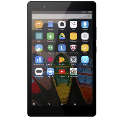 Lenovo P8 Tablet PCTablet PCs<br>Lenovo P8 Tablet PC<br><br>3.5mm Headphone Jack: Yes, Yes<br>AC adapter: 100-240V / 5.2V 2.0A, 100-240V / 5.2V 2.0A<br>Additional Features: MP4, OTA, Sound Recorder, Gravity Sensing System, Alarm, Bluetooth, Browser, Calendar, MP3, GPS, Alarm, Bluetooth, Browser, Calculator, Gravity Sensing System, Calculator, Calendar, GPS, OTA, MP3, Sound Recorder, Wi-Fi, MP4, Wi-Fi<br>Back camera: 8.0MP<br>Battery Capacity(mAh): 3.7V / 4250mAh, Li-ion polymer battery, 3.7V / 4250mAh, Li-ion polymer battery<br>Bluetooth: 4.0<br>Brand: Lenovo<br>Camera type: Dual cameras (one front one back)<br>Core: 2.0GHz, Octa Core<br>CPU: Qualcomm Snapdragon 625 (MSM8953)<br>CPU Brand: Qualcomm<br>External Memory: TF card up to 64GB (not included)<br>Front camera: 5.0MP<br>G-sensor: Supported, Supported<br>Google Play Store: Supported, Supported<br>GPS: Yes<br>GPU: Adreno 506<br>IPS: Yes<br>Languages support : Supports multi-language as screenshots<br>MIC: Supported, Supported<br>Micro USB Slot: Yes, Yes<br>MS Office format: Word, Word, PPT, Excel, Excel, PPT<br>Music format: MP3, MP3<br>OS: Android 6.0<br>Package size: 23.50 x 14.50 x 6.00 cm / 9.25 x 5.71 x 2.36 inches, 23.50 x 14.50 x 6.00 cm / 9.25 x 5.71 x 2.36 inches<br>Package weight: 0.5860 kg, 0.5860 kg<br>Picture format: JPG, PNG, JPG, BMP, GIF, GIF, JPEG, JPEG, PNG, BMP<br>Power Adapter: 1, 1<br>Product size: 20.80 x 12.30 x 0.88 cm / 8.19 x 4.84 x 0.35 inches, 20.80 x 12.30 x 0.88 cm / 8.19 x 4.84 x 0.35 inches<br>Product weight: 0.3260 kg, 0.3260 kg<br>RAM: 3GB<br>ROM: 16GB<br>Screen resolution: 1920 x 1200 (WUXGA)<br>Screen size: 8 inch<br>Screen type: Capacitive (10-Point)<br>Skype: Supported, Supported<br>Speaker: Supported, Supported<br>Support Network: WiFi<br>Tablet PC: 1, 1<br>TF card slot: Yes<br>Type: Tablet PC<br>USB Cable: 1, 1<br>Video format: MP4, MP4<br>WIFI: 802.11 b/g/n/ac<br>Youtube: Supported, Supported