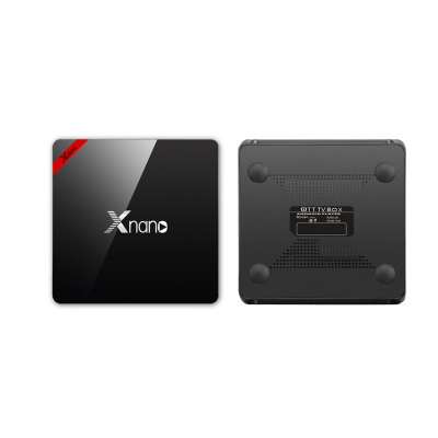 Xnano X96 Pro S905X TV BoxTV Box<br>Xnano X96 Pro S905X TV Box<br><br>Audio format: RM, AAC, MP3, FLAC, WMA<br>Bluetooth: Bluetooth4.0<br>Camera: Without<br>Core: Quad Core<br>CPU: ARM Cortex-A53<br>Decoder Format: H.265, H.263, H.264, HD MPEG4<br>DVD Support: No<br>External Subtitle Supported: Yes<br>GPU: Mali-450 MP<br>HDMI Function: CEC<br>HDMI Version: 2.0<br>Language: English,Multi-language<br>Model: X96 Pro<br>Other Functions: 3D Games, 3D Video, DLNA, Miracast<br>Package Contents: 1 x TV Box, 1 x Remote Control, 1 x Power Adaptor, 1 x HDMI Cable, 1 x English User Manual<br>Package size (L x W x H): 20.50 x 14.00 x 5.00 cm / 8.07 x 5.51 x 1.97 inches<br>Package weight: 0.4400 kg<br>Photo Format: PNG, JPEG, GIF, TIFF, BMP<br>Power Consumption.: 8W<br>Power Supply: Charge Adapter<br>Power Type: External Power Adapter Mode<br>Processor: S905X<br>Product size (L x W x H): 10.80 x 10.80 x 1.80 cm / 4.25 x 4.25 x 0.71 inches<br>Product weight: 0.3500 kg<br>RAM: 2G RAM<br>RAM Type: DDR3<br>RJ45 Port Speed: 100M<br>ROM: 16G ROM<br>Support 5.1 Surround Sound Output: Yes<br>System: Android 6.0<br>System Bit: 64Bit<br>Video format: DAT, RM, WMV, MPG, MPEG, MP4, MOV, MKV, ISO, AVI<br>WiFi Chip: RTL8723
