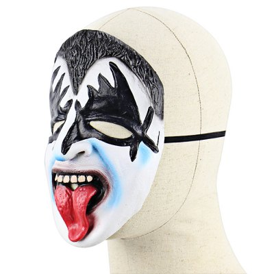 Funny Stuck-out Tongue Bat Face Latex MaskClassic Toys<br>Funny Stuck-out Tongue Bat Face Latex Mask<br><br>Appliable Crowd: Unisex<br>Materials: Latex<br>Nature: Other<br>Package Contents: 1 x Mask<br>Package size: 26.00 x 23.50 x 2.00 cm / 10.24 x 9.25 x 0.79 inches<br>Package weight: 0.0650 kg<br>Product weight: 0.0420 kg