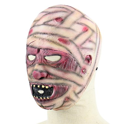 Scary Mummy Latex MaskClassic Toys<br>Scary Mummy Latex Mask<br><br>Appliable Crowd: Unisex<br>Materials: Latex<br>Nature: Other<br>Package Contents: 1 x Mask<br>Package size: 28.00 x 25.00 x 3.00 cm / 11.02 x 9.84 x 1.18 inches<br>Package weight: 0.1200 kg<br>Product weight: 0.0980 kg