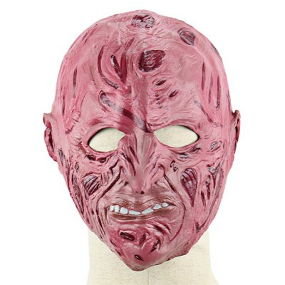 Scarred Face Latex Mask