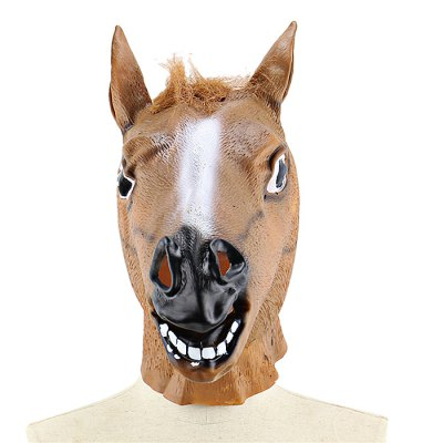 Horsehead Animal Latex MaskClassic Toys<br>Horsehead Animal Latex Mask<br><br>Appliable Crowd: Unisex<br>Materials: Latex<br>Nature: Other<br>Package Contents: 1 x Mask<br>Package size: 42.00 x 29.00 x 3.00 cm / 16.54 x 11.42 x 1.18 inches<br>Package weight: 0.4300 kg<br>Product weight: 0.3980 kg