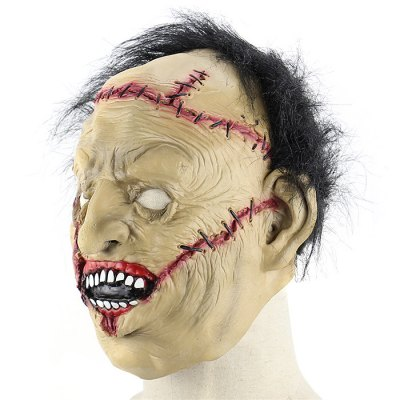 Terrifying Scarred Face Science Freak Latex MaskClassic Toys<br>Terrifying Scarred Face Science Freak Latex Mask<br><br>Appliable Crowd: Unisex<br>Materials: Latex<br>Nature: Other<br>Package Contents: 1 x Mask<br>Package size: 27.50 x 32.00 x 4.00 cm / 10.83 x 12.6 x 1.57 inches<br>Package weight: 0.1900 kg<br>Product weight: 0.1570 kg