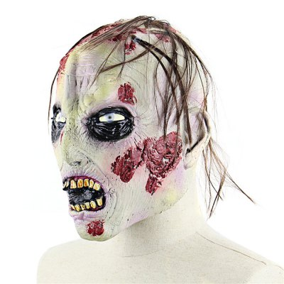 Rotten Zombie Latex MaskClassic Toys<br>Rotten Zombie Latex Mask<br><br>Appliable Crowd: Unisex<br>Materials: Latex<br>Nature: Other<br>Package Contents: 1 x Mask<br>Package size: 27.00 x 26.00 x 4.00 cm / 10.63 x 10.24 x 1.57 inches<br>Package weight: 0.2200 kg<br>Product weight: 0.1880 kg