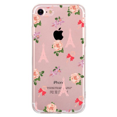 Rose Tower Case for iPhone 7