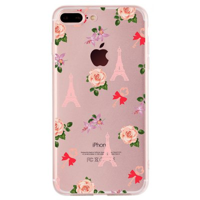 Rose Tower Case for iPhone 7 Plus
