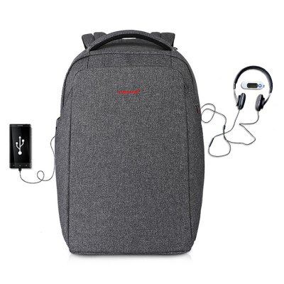 Tigernu T - B3237 USB Port 20L Leisure Backpack Laptop BagBackpacks<br>Tigernu T - B3237 USB Port 20L Leisure Backpack Laptop Bag<br><br>Bag Capacity: 20L<br>Brand: TIGERNU<br>Capacity: 11 - 20L<br>Features: Laptop Bag, Ultra Light<br>For: Other, Sports, Casual, Traveling<br>Gender: Unisex<br>Package Contents: 1 x Tigernu T - B3237 Leisure Backpack<br>Package size (L x W x H): 31.00 x 8.00 x 28.00 cm / 12.2 x 3.15 x 11.02 inches<br>Package weight: 1.1400 kg<br>Product size (L x W x H): 30.00 x 14.00 x 44.00 cm / 11.81 x 5.51 x 17.32 inches<br>Product weight: 1.0000 kg<br>Strap Length: 45 - 80cm<br>Style: Fashion<br>Type: Backpack