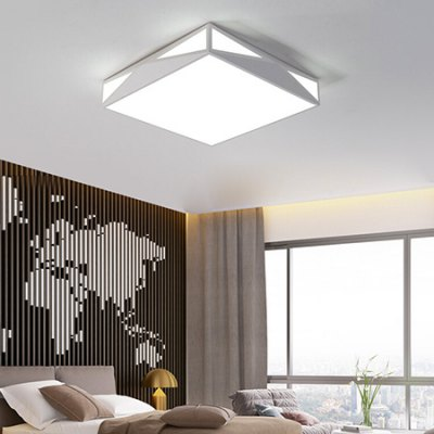 LED Quadratic Light-adjustable Ceiling LightFlush Ceiling Lights<br>LED Quadratic Light-adjustable Ceiling Light<br><br>Illumination Field: 7 - 15sqm<br>Luminous Flux: 2000lm<br>Optional Light Color: Warm White + White<br>Package Contents: 1 x Ceiling Light, 1 x Wireless Remote Controller<br>Package size (L x W x H): 53.00 x 53.00 x 16.00 cm / 20.87 x 20.87 x 6.3 inches<br>Package weight: 4.0400 kg<br>Product size (L x W x H): 47.00 x 47.00 x 9.00 cm / 18.5 x 18.5 x 3.54 inches<br>Product weight: 4.0000 kg<br>Sheathing Material: Acrylic<br>Type: Ceiling Lights<br>Voltage (V): 220V<br>Wattage (W): 24<br>Wavelength / CCT: 3000K,6500K