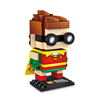 LOZ Super Hero Building BlocksBlock Toys<br>LOZ Super Hero Building Blocks<br><br>Brand: LOZ<br>Gender: Unisex<br>Materials: ABS<br>Package Contents: 1 x Box of Particles, 1 x Manual ( Pure Graphic, Used Universal, No Chinese or English )<br>Package size: 15.00 x 13.00 x 4.50 cm / 5.91 x 5.12 x 1.77 inches<br>Package weight: 0.0900 kg<br>Product size: 3.60 x 3.00 x 7.00 cm / 1.42 x 1.18 x 2.76 inches<br>Product weight: 0.0500 kg<br>Suitable Age: Kid<br>Theme: Fantasy and Sci-fi<br>Type: Kids Building