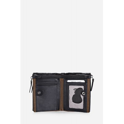Men FRID Protection Genuine Leather WalletMens Wallets<br>Men FRID Protection Genuine Leather Wallet<br><br>Closure Type: Snap Fastener<br>Material: Genuine Leather<br>Package Size(L x W x H): 13.00 x 10.00 x 3.00 cm / 5.12 x 3.94 x 1.18 inches<br>Package weight: 0.1200 kg<br>Packing List: 1 x Wallet<br>Product Size(L x W x H): 12.10 x 9.40 x 2.70 cm / 4.76 x 3.7 x 1.06 inches<br>Product weight: 0.0930 kg<br>Style: Fashion<br>Type: Wallet