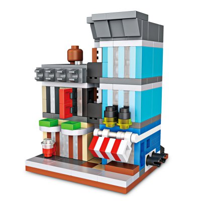LOZ Mini Detective Agency Building BlocksBlock Toys<br>LOZ Mini Detective Agency Building Blocks<br><br>Brand: LOZ<br>Gender: Unisex<br>Materials: ABS<br>Package Contents: 1 x Box of Particles, 1 x Manual ( Pure Graphic, Used Universal, No Chinese or English )<br>Package size: 16.50 x 14.00 x 4.50 cm / 6.5 x 5.51 x 1.77 inches<br>Package weight: 0.1200 kg<br>Product size: 5.40 x 4.80 x 6.40 cm / 2.13 x 1.89 x 2.52 inches<br>Product weight: 0.0900 kg<br>Suitable Age: Kid<br>Theme: Buildings<br>Type: Kids Building