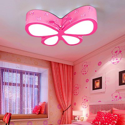 24W 2400LM LED Cartoon Butterfly Shape Ceiling Light 220VFlush Ceiling Lights<br>24W 2400LM LED Cartoon Butterfly Shape Ceiling Light 220V<br><br>Features: Remote-Controlled<br>Illumination Field: 12 - 15 Square Meter<br>Luminous Flux: 2400lm<br>Optional Light Color: Natural White,Warm White,White<br>Package Contents: 1 x Ceiling Light, 1 x Remote Control<br>Package size (L x W x H): 52.00 x 42.00 x 11.00 cm / 20.47 x 16.54 x 4.33 inches<br>Package weight: 4.3300 kg<br>Product size (L x W x H): 50.00 x 41.00 x 10.00 cm / 19.69 x 16.14 x 3.94 inches<br>Product weight: 4.0000 kg<br>Sheathing Material: Acrylic<br>Type: Ceiling Lights<br>Voltage (V): 220V<br>Wattage (W): 24<br>Wavelength / CCT: 3000K,5000K,6500K