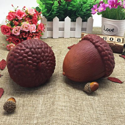1pc PU Simulation Pine Nut Slow Rising Squishy Toy