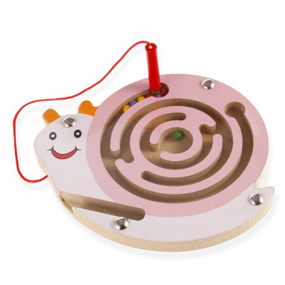 Magnetic Wooden Animal MazeNovelty Toys<br>Magnetic Wooden Animal Maze<br><br>Features: Cartoon<br>Materials: Magnet, PVC, Wood<br>Package Contents: 1 x Maze, 1 x Maze<br>Package size: 16.00 x 14.50 x 1.80 cm / 6.3 x 5.71 x 0.71 inches, 16.00 x 14.50 x 1.80 cm / 6.3 x 5.71 x 0.71 inches<br>Package weight: 0.1550 kg, 0.1550 kg<br>Product size: 14.00 x 15.00 x 1.30 cm / 5.51 x 5.91 x 0.51 inches, 14.00 x 15.00 x 1.30 cm / 5.51 x 5.91 x 0.51 inches<br>Product weight: 0.1210 kg<br>Series: Entertainment<br>Theme: Classic Theme