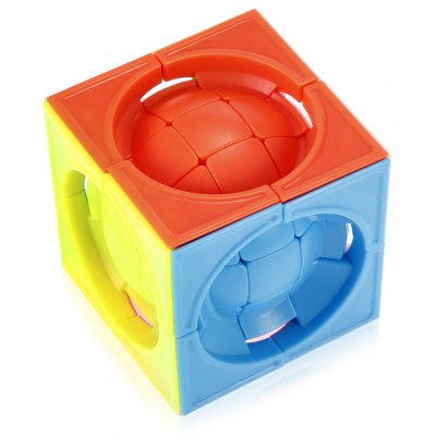 Deformed 3 x 3 x 3 Centrosphore Magic Cube