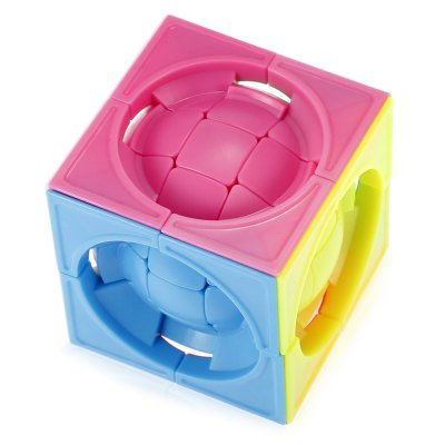 Deformed 3 x 3 x 3 Centrosphore Magic CubeMagic Tricks<br>Deformed 3 x 3 x 3 Centrosphore Magic Cube<br><br>Age: Above 3 year-old<br>Difficulty: 3x3x3<br>Material: ABS<br>Package Contents: 1 x Magic Cube<br>Package size (L x W x H): 6.00 x 6.00 x 6.00 cm / 2.36 x 2.36 x 2.36 inches<br>Package weight: 0.1020 kg<br>Product size (L x W x H): 5.70 x 5.70 x 5.70 cm / 2.24 x 2.24 x 2.24 inches<br>Product weight: 0.0820 kg<br>Type: Magic Cubes