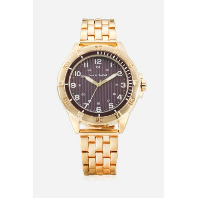 CRRJU 2113 Quartz Men WatchMens Watches<br>CRRJU 2113 Quartz Men Watch<br><br>Available Color: Black,Blue,Gold<br>Band material: Zinc Alloy<br>Band size: 23 x 1.8cm<br>Case material: Zinc Alloy<br>Clasp type: Folding clasp with safety<br>Dial size: 4.5 x 4.5 x 0.8cm<br>Display type: Analog<br>Movement type: Quartz watch<br>Package Contents: 1 x Men Watch, 1 x Box<br>Package size (L x W x H): 9.00 x 9.00 x 6.00 cm / 3.54 x 3.54 x 2.36 inches<br>Package weight: 0.2020 kg<br>Product size (L x W x H): 23.00 x 4.50 x 0.80 cm / 9.06 x 1.77 x 0.31 inches<br>Product weight: 0.1210 kg<br>Shape of the dial: Round<br>Watch style: Fashion<br>Watches categories: Men<br>Water resistance : 30 meters<br>Wearable length: 23 - 29.6cm