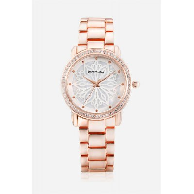 CRRJU 2109 Women Quartz WatchWomens Watches<br>CRRJU 2109 Women Quartz Watch<br><br>Available Color: Blue,Gold,Rose Gold,Silver<br>Band material: Zinc Alloy<br>Brand: CRRJU<br>Case material: Zinc Alloy<br>Display type: Analog<br>Movement type: Quartz watch<br>Package Contents: 1 x Men Watch, 1 x Box<br>Package size (L x W x H): 9.00 x 9.00 x 6.00 cm / 3.54 x 3.54 x 2.36 inches<br>Package weight: 0.1000 kg<br>Product size (L x W x H): 20.00 x 3.80 x 0.70 cm / 7.87 x 1.5 x 0.28 inches<br>Product weight: 0.0780 kg<br>Shape of the dial: Round<br>Watch style: Fashion<br>Watches categories: Women<br>Water resistance : 30 meters