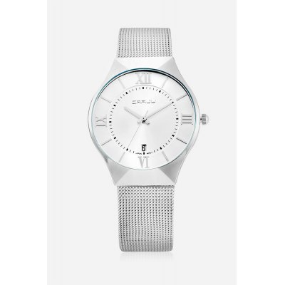 CRRJU 2107 Quartz Men WristwatchMens Watches<br>CRRJU 2107 Quartz Men Wristwatch<br><br>Available Color: Black,Blue,Silver<br>Band material: Zinc Alloy<br>Band size: 24 x 1.8cm<br>Case material: Zinc Alloy<br>Clasp type: Hook buckle<br>Dial size: 4 x 4 x 0.6cm<br>Display type: Analog<br>Movement type: Quartz watch<br>Package Contents: 1 x Men Wristwatch, 1 x Box<br>Package size (L x W x H): 9.00 x 9.00 x 6.00 cm / 3.54 x 3.54 x 2.36 inches<br>Package weight: 0.1430 kg<br>Product size (L x W x H): 24.00 x 4.00 x 0.60 cm / 9.45 x 1.57 x 0.24 inches<br>Product weight: 0.0670 kg<br>Shape of the dial: Round<br>Watch style: Business<br>Watches categories: Men<br>Water resistance : 30 meters<br>Wearable length: 22 - 24cm