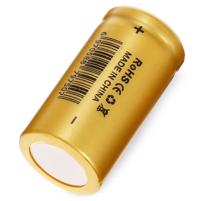 Geteed 3.7V 750mAh 15A 18350 Li-ion Rechargeable BatteryBatteries<br>Geteed 3.7V 750mAh 15A 18350 Li-ion Rechargeable Battery<br><br>Battery: 18350<br>Battery Type: Lithium-ion<br>Brand: Geteed<br>Head Type: Flat Top<br>Package Contents: 1 x Geteed 18350 Li-ion Rechargeable Battery<br>Package size (L x W x H): 2.80 x 2.80 x 4.50 cm / 1.1 x 1.1 x 1.77 inches<br>Package weight: 0.0500 kg<br>Product size (L x W x H): 1.80 x 1.80 x 3.50 cm / 0.71 x 0.71 x 1.38 inches<br>Product weight: 0.0210 kg<br>Protected: No<br>Rechargeable: Yes<br>Type: Battery<br>Voltage(V): 3.7V