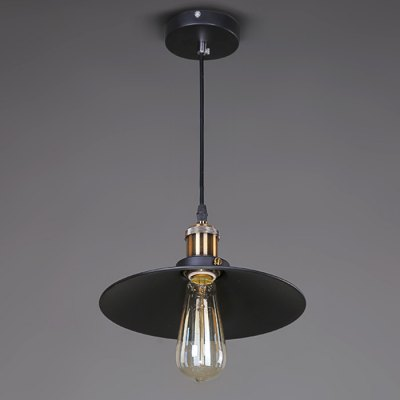 CY - DD - 017 - 26 E27 Base Iron Pendant Light 85 - 265VPendant Light<br>CY - DD - 017 - 26 E27 Base Iron Pendant Light 85 - 265V<br><br>Beam Angle: 360 Degree<br>Bulb Included: No<br>Function: Commercial Lighting, Home Lighting<br>Package Contents: 1 x Lampshade, 1 x Light Bulb Base, 1 x Ceiling Plate<br>Package size (L x W x H): 28.00 x 28.00 x 15.00 cm / 11.02 x 11.02 x 5.91 inches<br>Package weight: 0.9300 kg<br>Product size (L x W x H): 26.00 x 26.00 x 5.00 cm / 10.24 x 10.24 x 1.97 inches<br>Product weight: 0.5800 kg<br>Quantity of Spots: 1<br>Sheathing Material: Iron<br>Style: Industrial, Classic<br>Type: Pendants<br>Voltage (V): AC 85-265