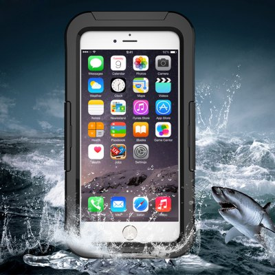 Waterproof Case for iPhone 6 / 6SiPhone Cases/Covers<br>Waterproof Case for iPhone 6 / 6S<br><br>Compatible for Apple: iPhone 6, iPhone 6S<br>Features: Anti-knock, FullBody Cases, Sports Case, Waterproof Case<br>Material: PC<br>Package Contents: 1 x Waterproof Case<br>Package size (L x W x H): 8.00 x 2.00 x 15.00 cm / 3.15 x 0.79 x 5.91 inches<br>Package weight: 0.0400 kg<br>Product size (L x W x H): 7.00 x 1.00 x 14.00 cm / 2.76 x 0.39 x 5.51 inches<br>Product weight: 0.0200 kg<br>Style: Transparent