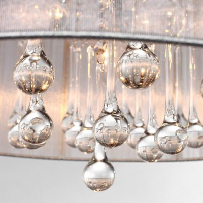 E14 Lamp Base 4 Branch LED Beautiful Crystal Pendant LightPendant Light<br>E14 Lamp Base 4 Branch LED Beautiful Crystal Pendant Light<br><br>Beam Angle: 360 Degree<br>Bulb Base Type: E14<br>Bulb Included: No<br>Function: Commercial Lighting, Home Lighting<br>Illumination Field: More Than 30 Square Meter<br>Package Contents: 1 x Crystal Pendant Light<br>Package size (L x W x H): 50.00 x 50.00 x 25.00 cm / 19.69 x 19.69 x 9.84 inches<br>Package weight: 5.5000 kg<br>Product size (L x W x H): 47.00 x 47.00 x 20.00 cm / 18.5 x 18.5 x 7.87 inches<br>Product weight: 4.2000 kg<br>Quantity of Spots: 4<br>Sheathing Material: Cloth, Crystal<br>Style: Modern/Contemporary<br>Type: Pendants<br>Voltage (V): AC 220